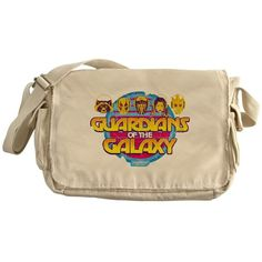 How am i not supposed to buy this? Guardians of the Galaxy Retro Eight Messenger Bag on CafePress.com