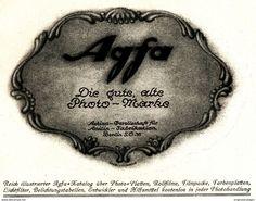 Original-Werbung/ Anzeige 1924 - AGFA - DIE GUTE ALTE PHOTO - MARKE - Ca. 140 X 110 Mm - Werbung