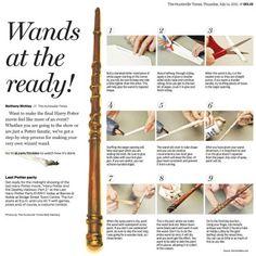 diy harry potter wand
