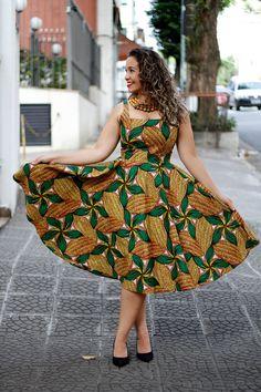 Tecidos africanos e a nova coleção da Afer / African dress outfit