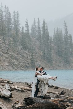 Lake Louise & Moraine Lake elopement with intimate wedding ceremony in the meadow at Lake Louise along with photos in the Bow River near the Post Hotel & wedding portraits at Moraine Lake for… Intimate Wedding Ceremony, Elope Wedding, Elopement Wedding, Hotel Wedding, Outdoor Ceremony, Fairmont Chateau Lake Louise, Winter Wonderland Wedding, Autumn Wedding, Couples Vacation