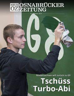 Tschüss Turbo-Abi: Niedersachsen will zurück zu G9: Lesen Sie jetzt mehr zum Titelthema in Ihrer Abendausgabe. www.noz.de/abo