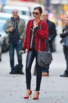 Miranda Kerr con un #LookOfi increible