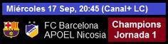 Primer rival del Barca en el arranque de la Champions League