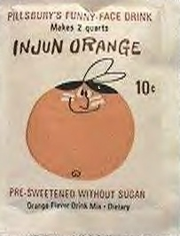 Oh my.  How politically incorrect. LOVE IT!  I remember these flavor packets, like Kool aide
