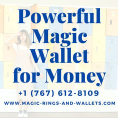 Magic Wallets That Work For Lottery, Business, Success & Prosperity
