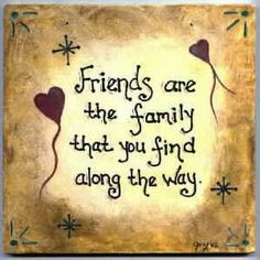 "So thankful for our ""friends-fam!"""