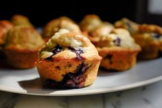NYT Cooking: Simple Blueberry Muffins
