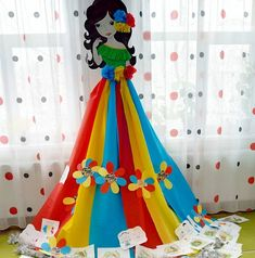 Class Decoration, School Decorations, Birthday Party Decorations, Easy Crafts, Diy And Crafts, Arts And Crafts, Book Crafts, Paper Crafts, Craft Books