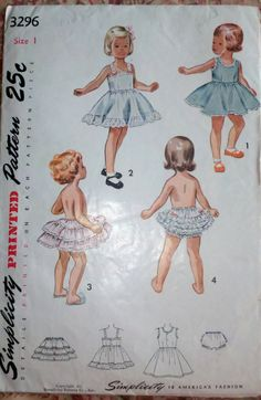 This is so darling!  My mom had these patterns for me!