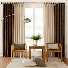 Pooja Room Design, Brown Curtains, Apartment Makeover, Pooja Rooms, Living Room Decor, Bedroom, Decoration, House, Style