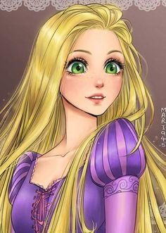 E se as princesas Disney fossem personagens anime?