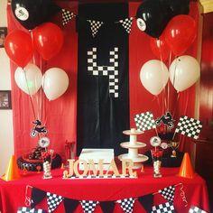 Dirt Bike Birthday Party Ideas Kids Ideas For 2019 Motorcycle Birthday Parties, Dirt Bike Party, Dirt Bike Birthday, Motorcycle Party, Hot Wheels Birthday, Hot Wheels Party, Race Car Birthday, Cars Birthday Parties, Birthday Party Decorations