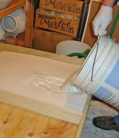 Making Wedging table and Clay Recycling Plaster Boards | Tips and Tutorial