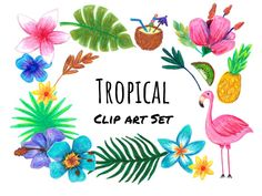 This listing includes: 25 Hand Drawn Tropical Clip Art in PNG format. All Hand Drawn using pencils and color pencils. Personal and Commercial (credit) License use comes with purchase in a downloadable PDF. Easy PNG zipped file Download ( you can change size, shape, color, etc. Fully Editable! ) Feel free to use and change them, however, need be! I'm just happy that you are using them to create your own art. Scanned at 300 dpi. Ideas for these graphics: - Printable Stickers - Scrapbo...
