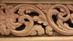 Woodcarving Show - Acanthus