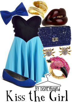 Kiss the Girl by disneybound
