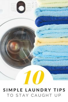 Keep your laundry under control with these simple tips.  Hint...it includes your kids helping out!