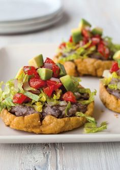 ... bean sopes, use purchased refried black beans and jarred salsa instead