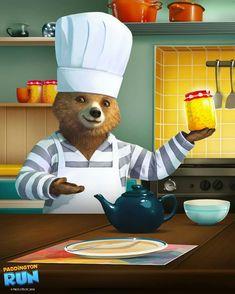 Paddington Bear, Brown Bear, Graphics, Wall Art, Movies, Graphic Design, Films, Cinema, Printmaking
