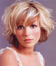 short+curly+hairstyles+with+bangs   ... choice of style bangs and accompany your wavy hair style with bangs