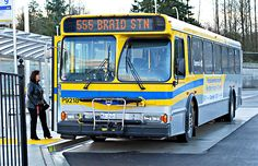 Shirley Rowe waited to board the Rapid Bus in its first week of service between Langley and New Westminster's Braid Street SkyTrain station. One Week, Westminster, Braids, Street, Bang Braids, Cornrows, Braid Hairstyles, Plaits, Braided Pigtails