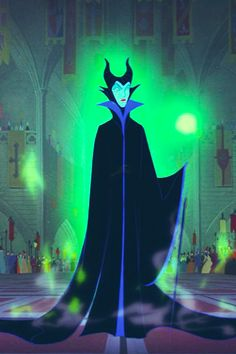 """Maleficent (Eleanor Audley) from """"Sleeping Beauty"""""""