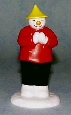 Coalport Snowman - The Snow Ball | eBay | Christmas Snowmen ...