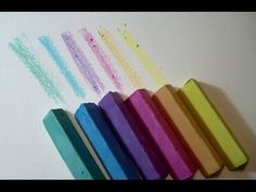 How to make home made SIDEWALK CHALKS with a TWIST - New Idea and tips by ART Tv - YouTube
