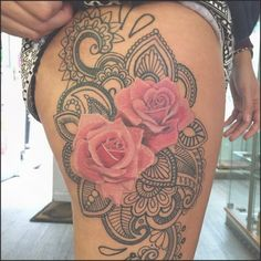 75 Best Rose tattoos for Women and Men to Ink | Tattoo hip, Rose ...#forwomen #sexiest #tattoo #tattooideas #thigh