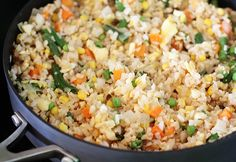 Quick Vegetable Fried Rice Recipe | Quick Dish Recipes