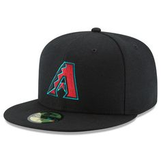 Men s New Era Black Arizona Diamondbacks Authentic Collection Game On Field  59FIFTY Fitted Hat New Era 2e08cb725203