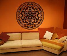 Vinyl Wall Decal Sticker Arabic Art Circle by Stickerbrand on Etsy, $39.95