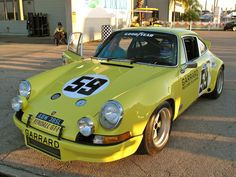 1973 12 hours of Sebring winning Porsche 911RSR