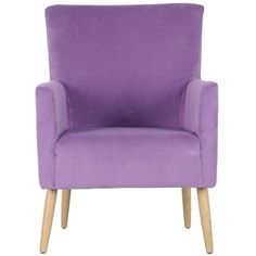 Safavieh Awan Accent Chair ($411) ❤ liked on Polyvore featuring home, furniture, chairs, accent chairs, purple, purple furniture, safavieh chair, colored chairs, colored furniture and safavieh