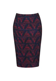 We Are Handsome - The Rider Pencil Skirt