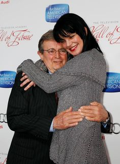 NCIS Ducky ~ David McCallum & Abby ~ Pauley Perrette