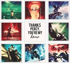 Percy Jackson was my first fandom and it kind of ruined/saved my life soo um sweet!