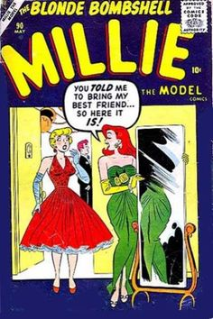 A cover gallery for the comic book Millie the Model Archie Comic Books, Vintage Comic Books, Archie Comics, Vintage Comics, Comic Book Characters, Vintage Toys, Vintage Art, Vintage Style, Millie The Model