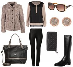 #Herbstoutfit Edel unterwegs ♥ #outfit #Damenoutfit #outfitdestages #dresslove