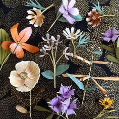 Ann Wood and Dean Lucker are the duo behind Woodlucker, a studio that creates interactive mechanical sculptures and botanical paper creations.