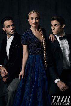 From left: Ramin Karimloo, Christy Altomare and Derek Klena | Anastasia Broadway Cast