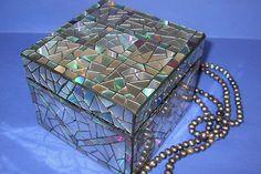 CDs reutilizados - caja para joyas