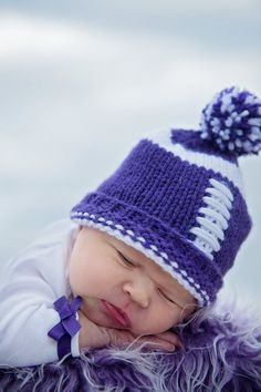 MIKE WOULD LOVE THIS!Kansas State Wildcats Baby Hat Kansas by TheOwlTreeKnittingCo, $22.99