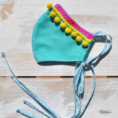 New! Colorful summer turquoise cotton face mask with lace , pompones and long thin ties. Perfect for summer! Thinnest and colorful! Mouth Mask Fashion, Fashion Face Mask, Easy Face Masks, Diy Face Mask, Crochet Mask, Charcoal Face Mask, Diy Mask, Mask Design, Mask For Kids