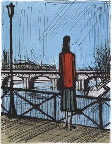 Bernard Buffet - Paris, The Seine