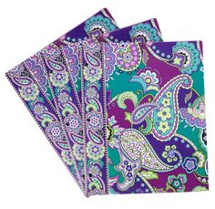 Vera Bradley flexi pocket folders
