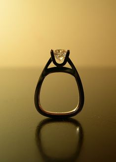 very cool lighting and a really beautiful but simple ring