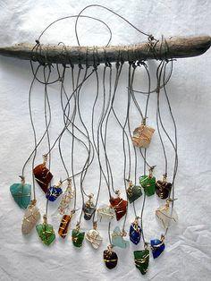 Beach Glass Suncatcher Seaglass Art-Driftwood Decor Cobalt Blue-Surf Tumbled Shell Boho Style on Etsy, $42.19 AUD