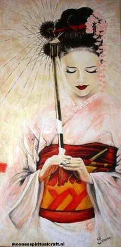 I love the beauty of Geishas